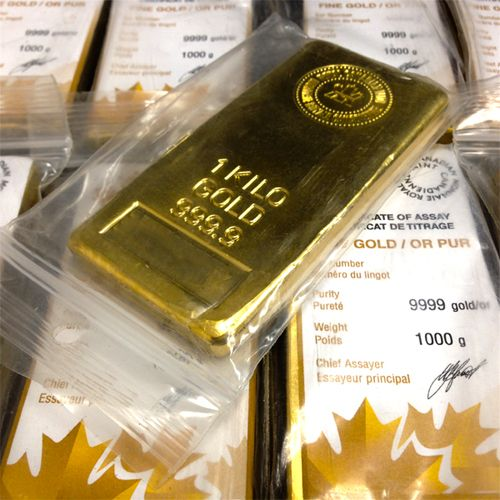 Kilo Gold Bar Royal Canadian Mint Ottawa Bullion Wholesale